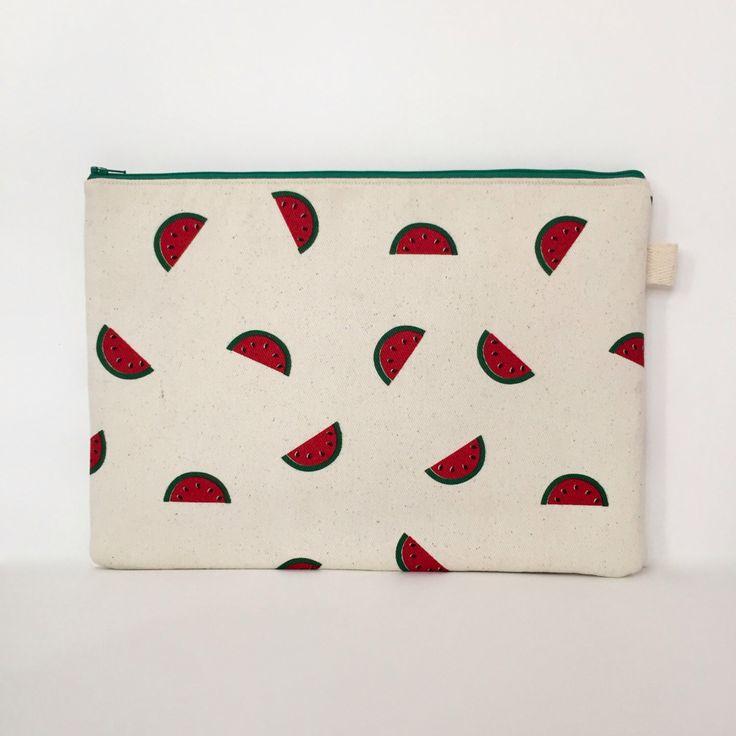 MacBook Pro Retina 13 Case, MacBook Pro 13 Sleeve, MacBook Air 13 Sleeve, 13 Inch Laptop Sleeve, Laptop Case, Laptop Sleeve 13 - Watermelon by joijoidesigns on Etsy https://www.etsy.com/uk/listing/288375253/macbook-pro-retina-13-case-macbook-pro