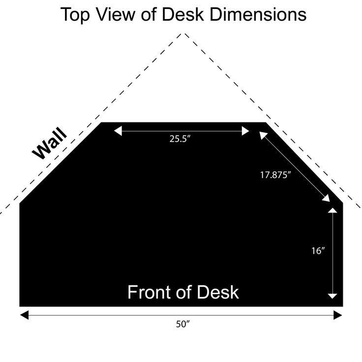Auston Black Corner Desk