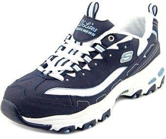 Skechers D'lites-biggest Fan Women Round Toe Synthetic Walking Shoe.
