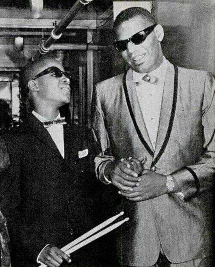 Ray Charles et Stevie Wonder, 1962