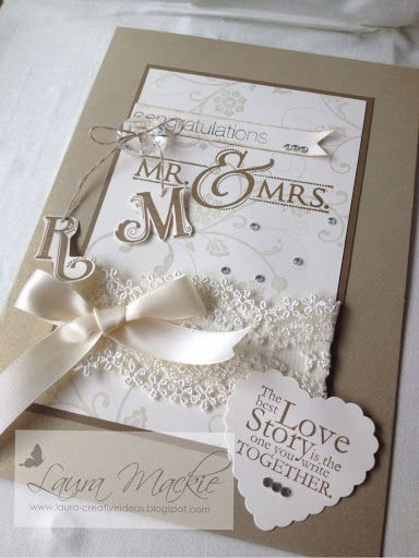 Stampin Up! Ideas & Supplies: Wedding card