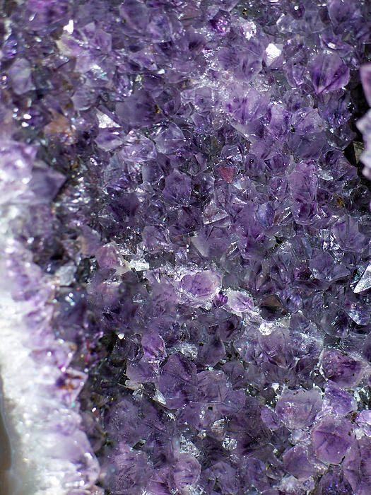 amethyst geode ii by roger reeves and terrie heslop amethyst geode ii photograph amethyst. Black Bedroom Furniture Sets. Home Design Ideas