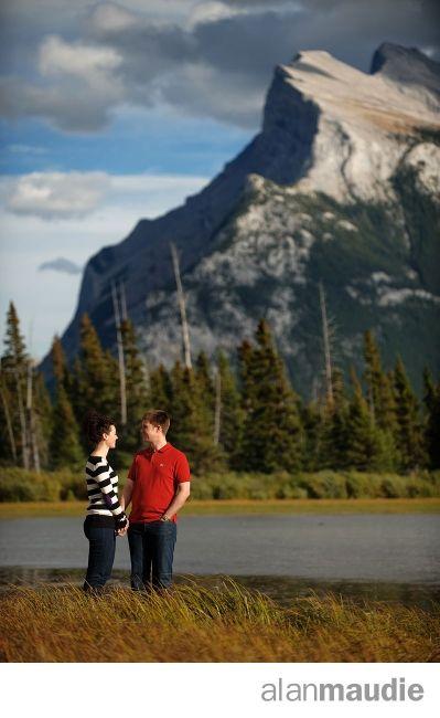 Banff Engagement Photos, Banff Photographer, Banff Wedding, Banff Alberta, Rockies Portrait Photos, Canadian Rockies Engagement