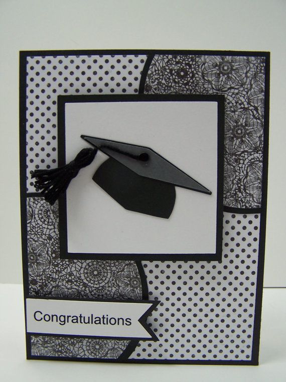 Stampin Up Handmade Greeting Card: Graduation Card, Class of 2014, Graduate Card, College Graduation, High School Graduation