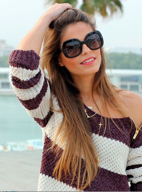 Ombre Hair Color for Brunettes | perfect brunette ombre