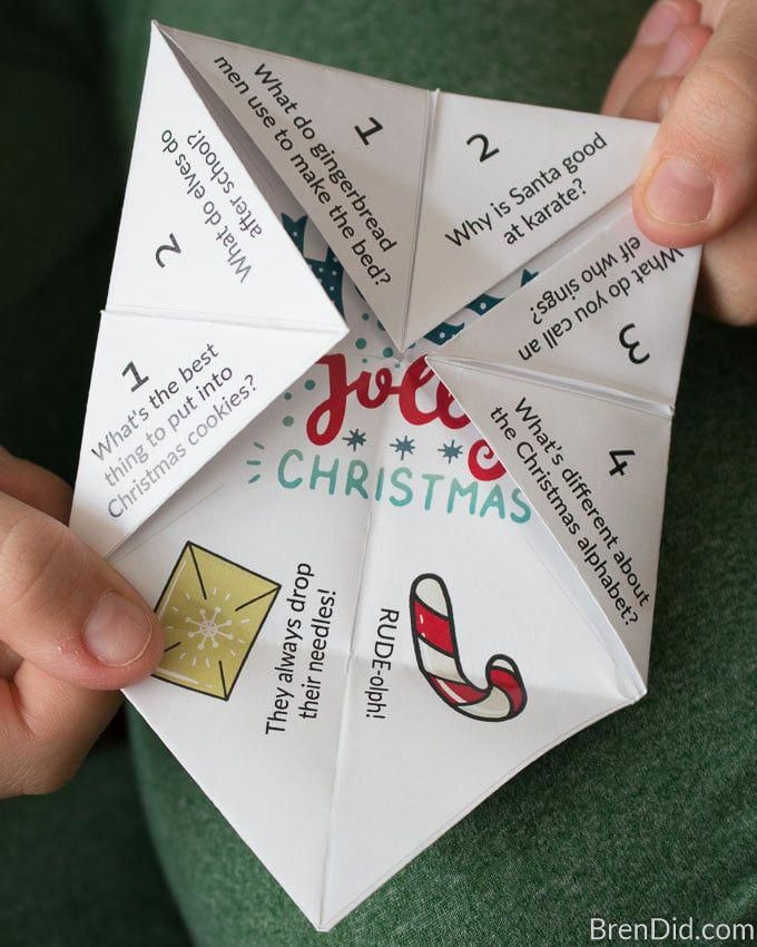 Paper Fortune Teller Ideas Funny : paper, fortune, teller, ideas, funny, Christmas, Teller, Fortune, Jokes, #christmasgamesforkids, Jokes,, Kids,