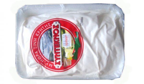 Παρασκευάζεται από τυρόγαλο προβάτου, κατσικιού ή την ανάμειξη αυτών των δύο, με την προσθήκη φρέσκου Κρητικού γάλακτος.-->http://www.creta-supplies.gr/el/products.php?p=3