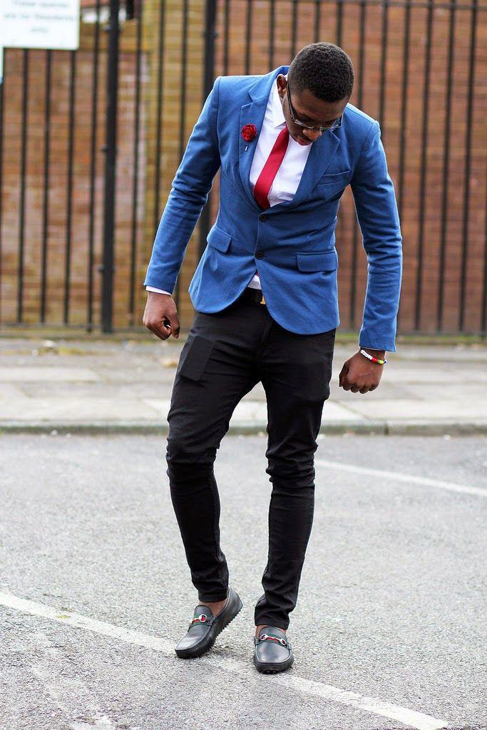 Como combinar un blazer azul hombre sweater vest - Colores para combinar con gris claro ...