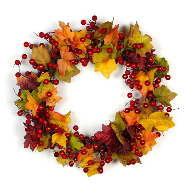 Bella Marie's Fall Red Berry Wreath is designed with rich red artificial berries and silk leaves in autumn hues. Our stunning wreath has can also be used on your dining, buffet, or living room table a