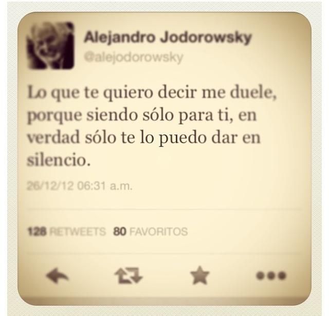 Alejandro jodorowsky quote