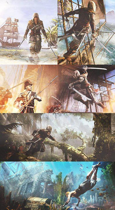 Assassin's Creed 4: Black Flag. Looking awesome. Edward is described in a similar way to Ezio