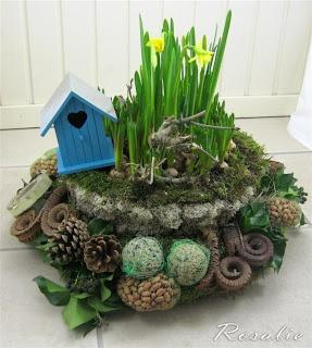 bloemstuk vogelvoer ((vogelvoer-diy))