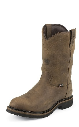 Justin Boots - Wyoming Insulated Steel Toe. Winter Work Boots. Best work boot I have ever worn!