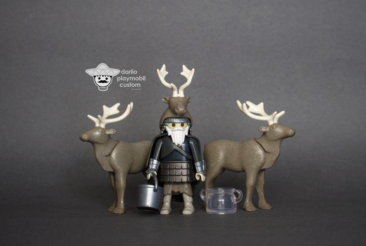 Reindeer keeper Playmobil custom