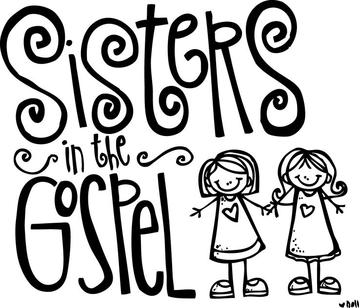 Melonheadz LDS Illustrating Sisters In The Gospel