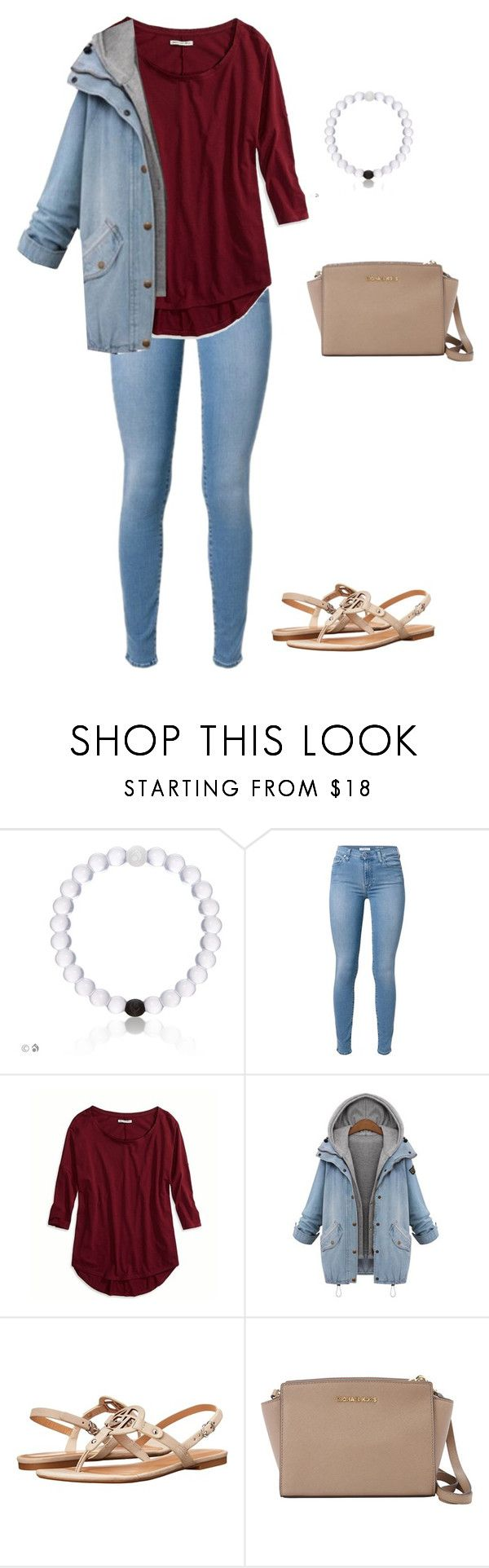 """""""Eating popcorn while watching sofia the first"""" by jackelinhernandez ❤ liked on Polyvore featuring American Eagle Outfitters, Armani Jeans and MICHAEL Michael Kors"""
