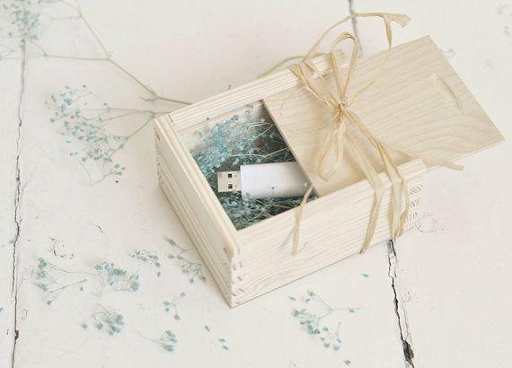 Wedding USB case with sliding lid, wedding case, wooden case, wedding case,wooden box,keepsake box, natural wood, unpainted wood, unfinished