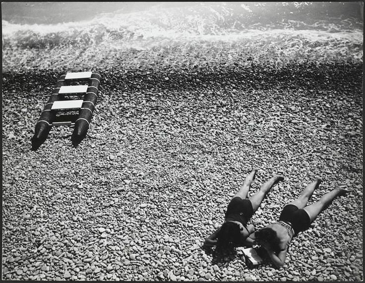 "Robert Doisneau // Photo from the book "" Doisneau et Pennac, Les Grandes Vacances, éditions Hoëbeke, 1991 """