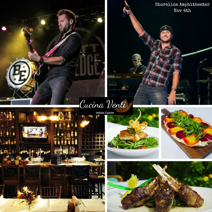 Join us before the Luke Bryan  Brett Eldredge concert Sat! Book a reservation for your pre-show dinner  drinks! https://www.opentable.com/r/cucina-venti-mountain-view