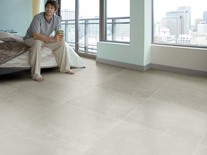 Metropolis Grey Floor Tile