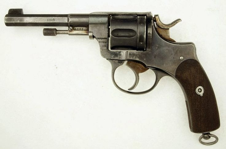Antique Rewolwery: Szwedzka M1887 Husqvarna Nagant Antique Revolver