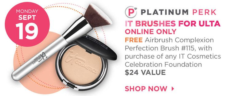Sale 2016: Ulta Magnificence Fall 21 Days of Magnificence – Store Your Favourite Manufacturers For Much less