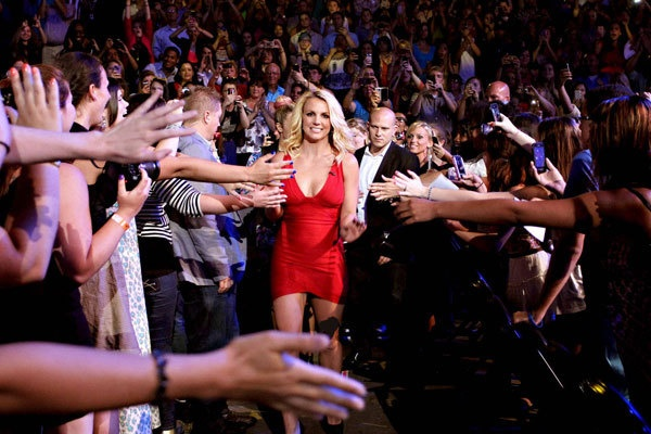 Britney Spears - Judge on Season 2 of THE X FACTOR