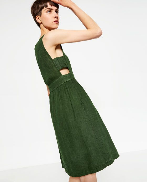 Image 5 of LINEN DRESS from Zara