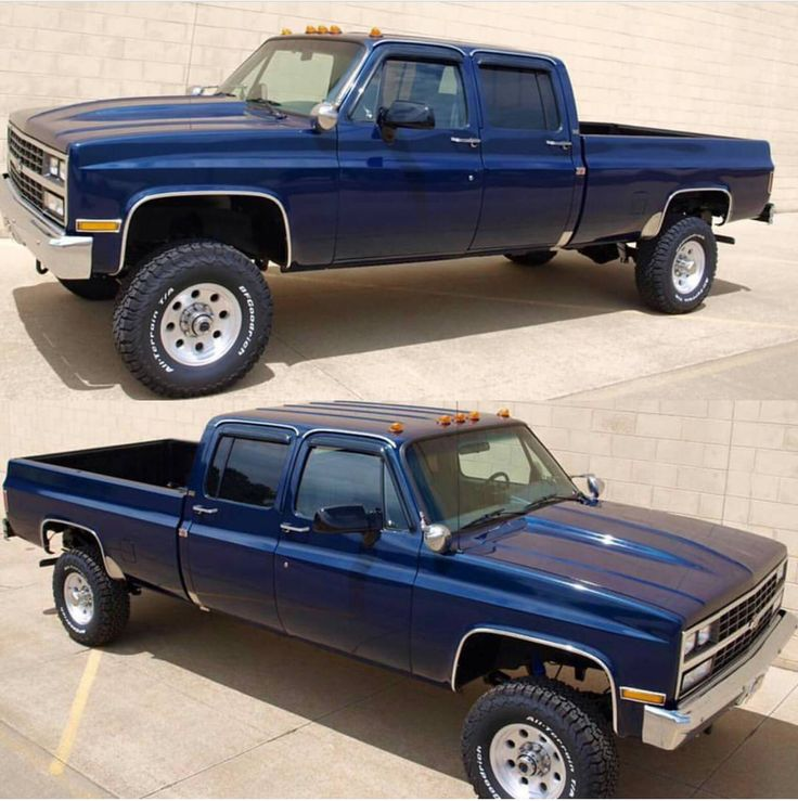 89' Chevy Scottsdale 2500 Crew Cab Long Bed