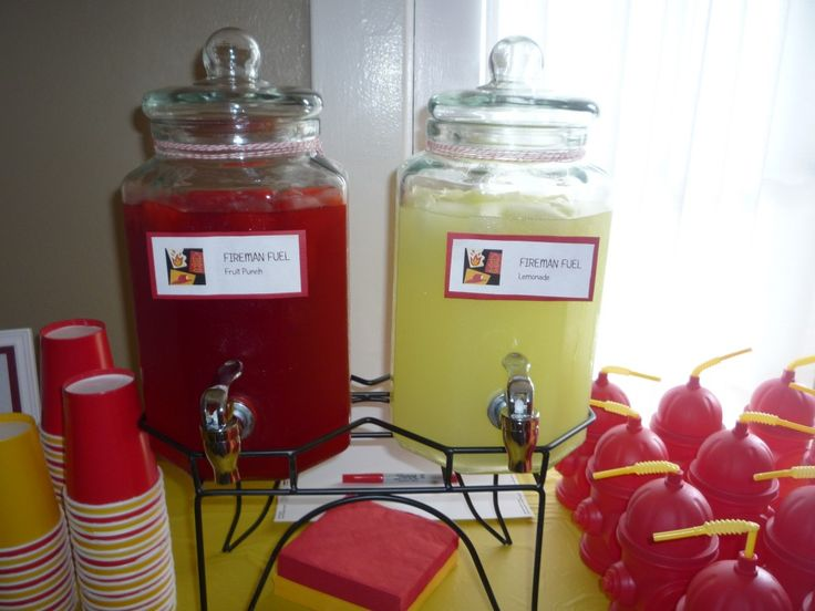fireman themed birthday party - Google Search