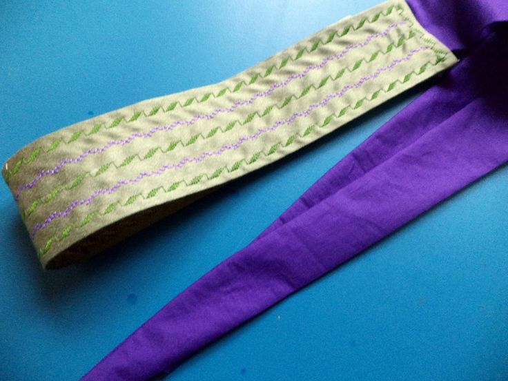 embroided belt