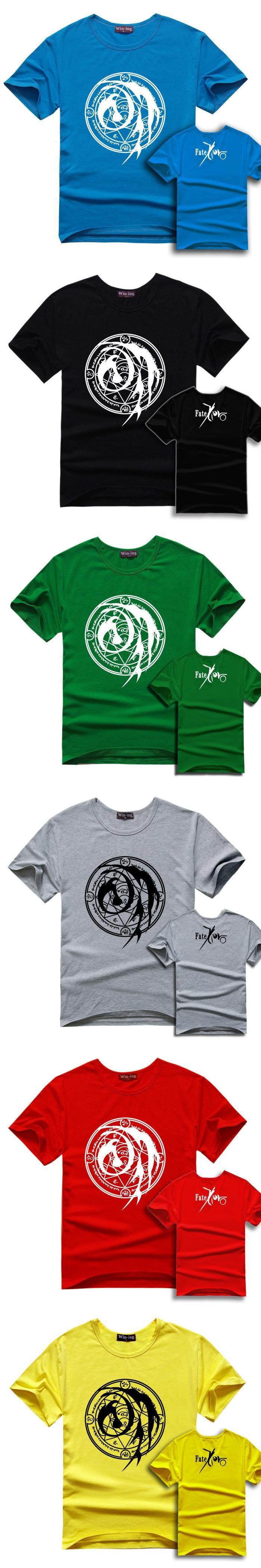 Anime t shirt Fate zero/Fate ubw/Fate stay night Assassin curse seal Kotomine Kirei summper T shirt FZ15