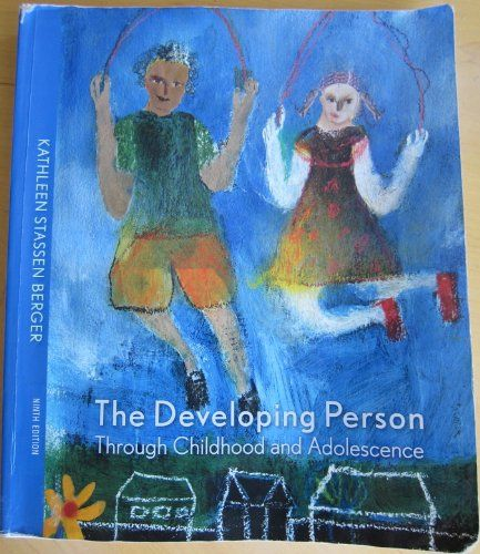 Developing Person through Childhood and Adolescence, 9th Edition. But under the new findings and new media tools, the text's deepest connection with students comes from the captivating, compassionate, authorial voice of Kathleen Berger, which makes the core concepts of developmental psychology clear, compelling, and relevant to the full range of students taking the course. Edition after edition, Kathleen Berger's acclaimed bestseller, The Developing Person Through Childhood and...