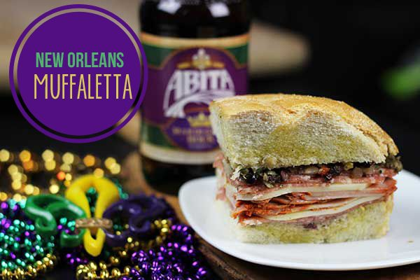 New Orleans' style Muffaletta Sandwich--If you love Italian meats, then you have to try this!