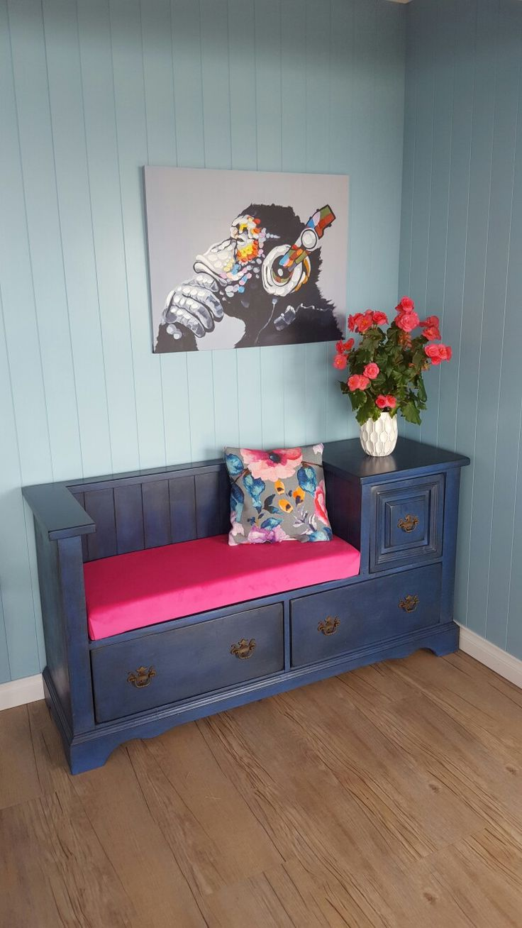 Up cycled bedroom lowboy draws