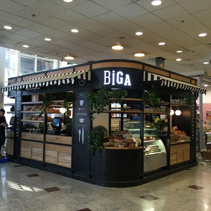 57 best kiosk images on pinterest kiosk store design for Food bar 36 cafe