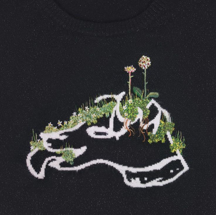 Icelandic flora & fauna - embroidery design Bella Freud