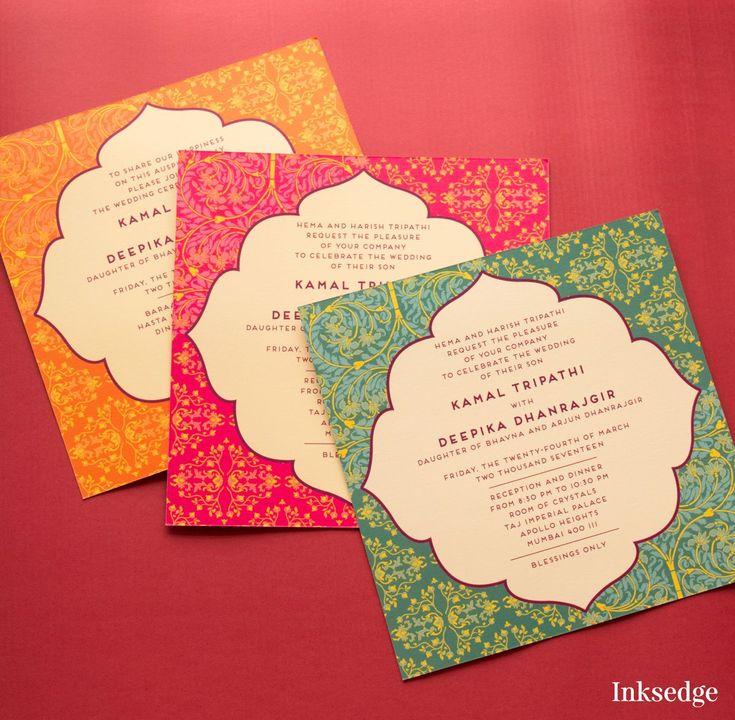 Wedding card design free vector in coreldraw