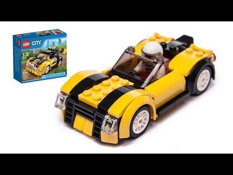 New Lego City 60113 Alternate Build Cabrio Moc Youtube Lego