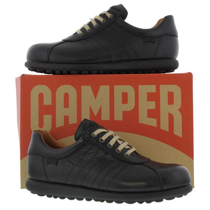 Camper Mens Pelotas Ariel Shoes - Black