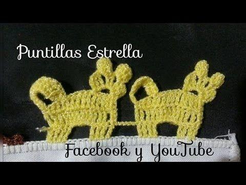 Hola en este vídeo les voy a enseñar a tejer este punto tan lindo a crochet…
