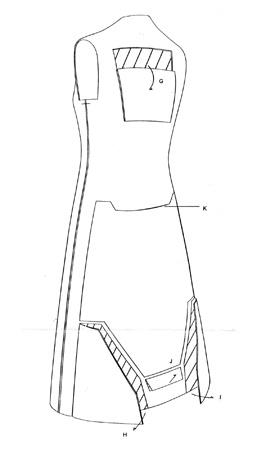 Hussein Chalayan - remote control dress