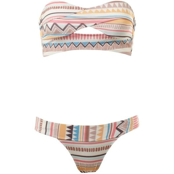 Primark Aztec Bikini, Top 5, Pant 3, Instore End Of May ❤ liked on Polyvore featuring swimwear, bikinis, swimsuits, bathing suits, swim wear, bathing suits bikini, swimsuits bikinis, aztec bikini, swimsuit swimwear and tribal swimsuit