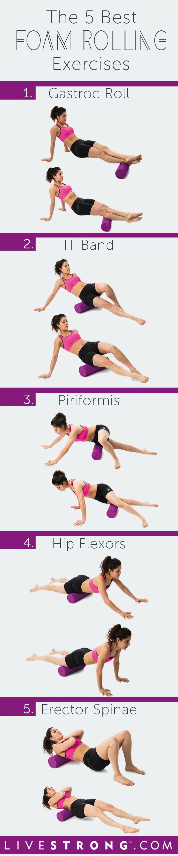 Effective Hip Flexor Stretch: 5 Foam Rolling Exercises to Relieve Sore Muscles