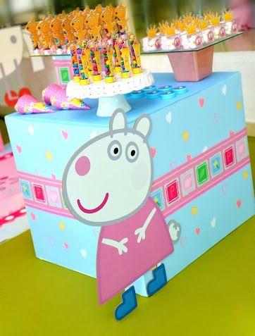Festa Peppa Pig!  #peppapig #peppa #meninas #festamenina #decor #party #partyideas #festapeppapig #kidsdecor  #inspiracao #ideias #festascriativas #festacriativa