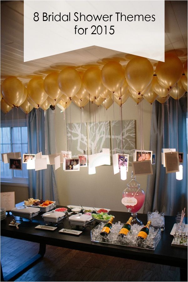top 8 bridal shower theme ideas for 2015 trends-- love the balloons