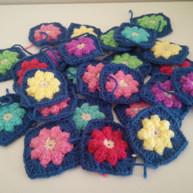 A personal favourite from my Etsy shop https://www.etsy.com/uk/listing/261726620/granny-squares-crochetpack-of-40-hand