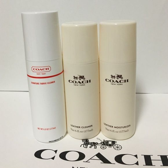 coach cleanermoisterizer set all brand new sealed authenic size 177ml each coach signature - Coach Cleaner