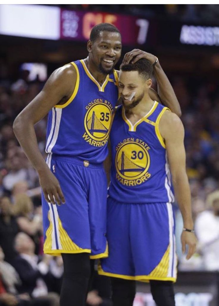 KD & Steph, Warrior Buds, 2017 NBA Finals