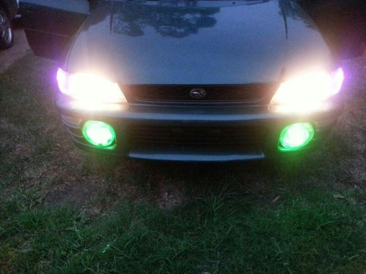 subaru impreza fog lights